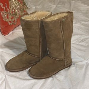 Bearpaw winter boots wool sheepskin Emma tall 9